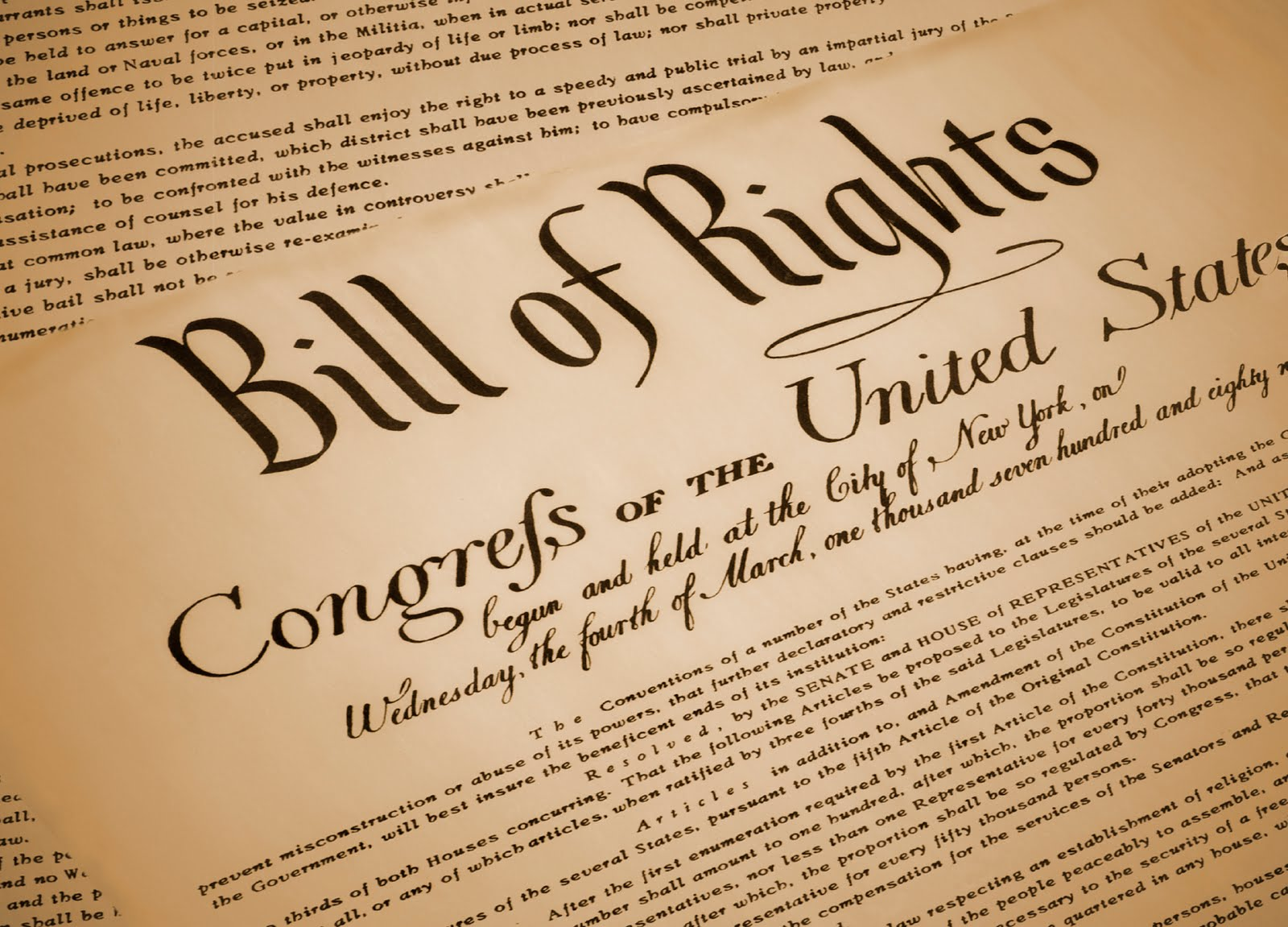 Anderson Triggs: The History of The Bill of Rights